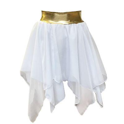Greek outfit Skirt chiffon Handkerchief Fancy Dress Skirt outfit Costume UK MADE (Greek Outfit)