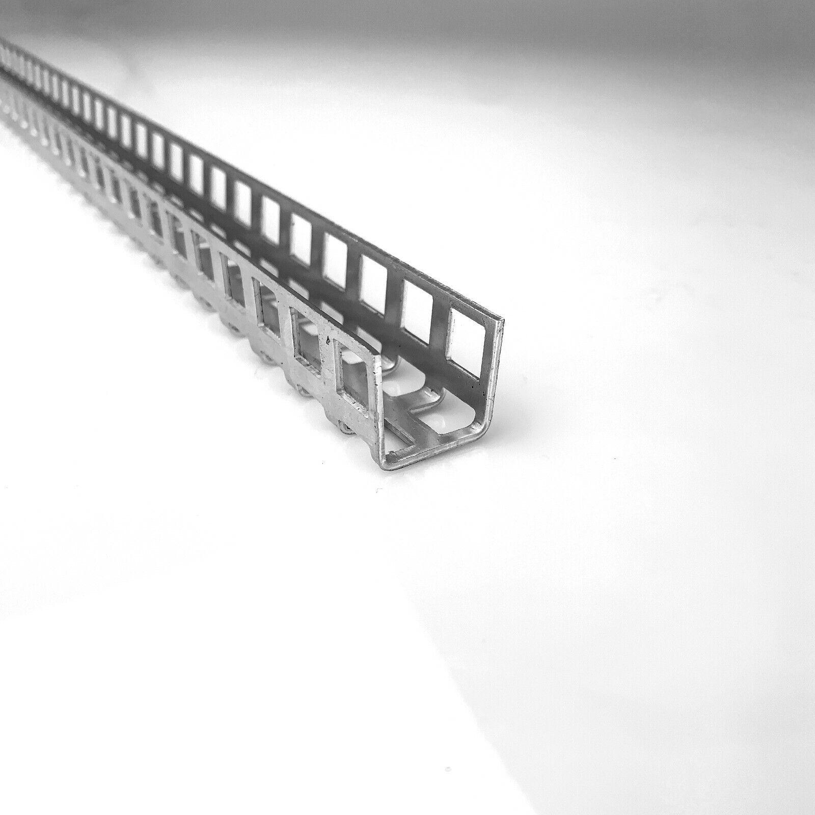 Alu U-Profil Schwarz RAL 9005 U-Winkel Aluminium  Kabelabdeckung  U-Schiene