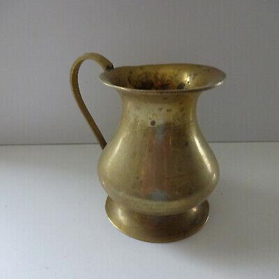 Chalice Jug Brass Vase Mug 11 CM