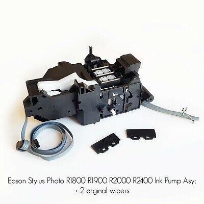 Epson Stylus Photo R1800 R1900 R2000 R2400 Ink Pump Asy 2 Orginal Wipers