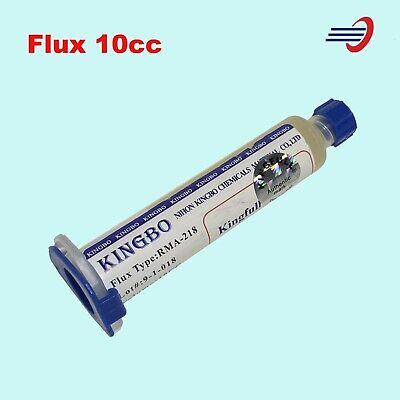 Kingbo Flux Kit Rma-218 Soldering Solder Paste 10cc Bga Reball Usa Shipping 1pcs