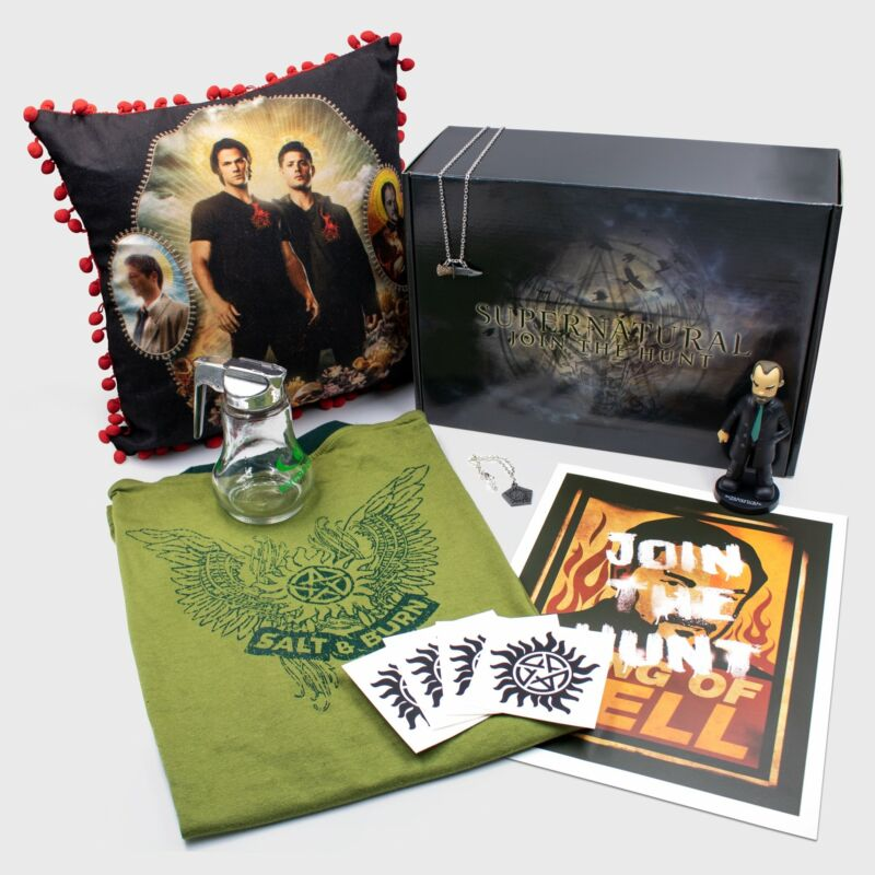 Cultureflys Supernatural Box Fall 2018 - 7 exclusive products