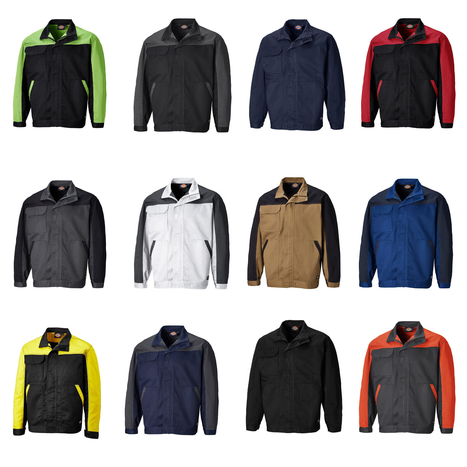 ROSSO Dickies Maywood giacca Softshell jw84955
