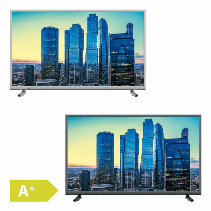 Grundig 139cm 55 Zoll Ultra HD 4K LED Fernseher Smart TV WLAN HDR DVB-T2