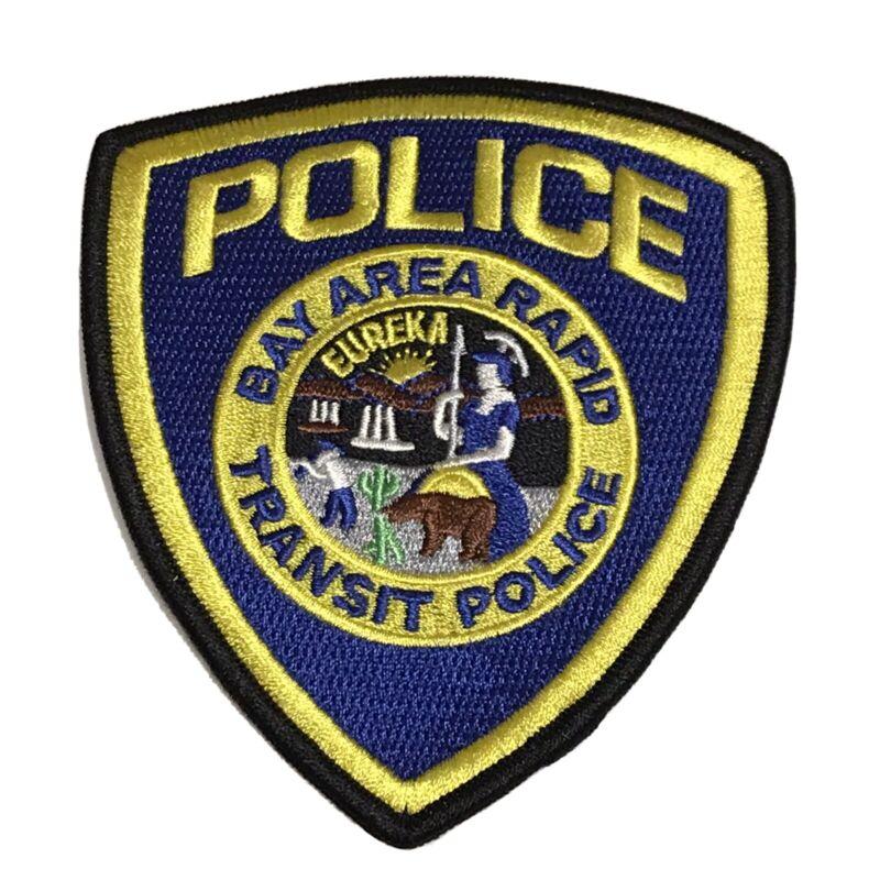Bay Area Rapid Transit Police Patch - California Transit San Fran Oakland