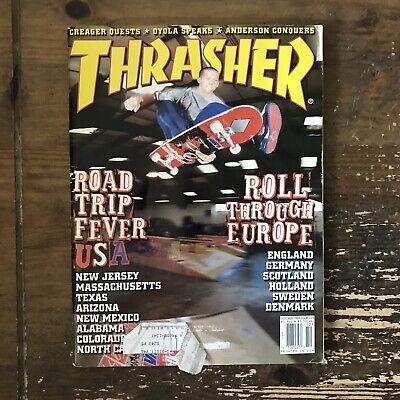 THRASHER magazine October 1999 SKATEBOARDING/SKATEBOARD