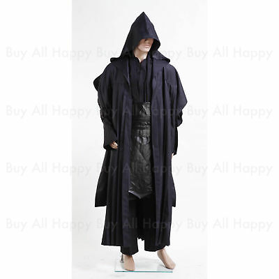 Star Wars Darth Maul Tunic Robe Uniform Costume Cosplay Halloween Simple - Costume Simple Halloween