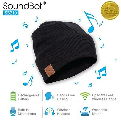 SoundBot¨ SB210 HD Stereo Bluetooth 4.1 Wireless Smart Bea