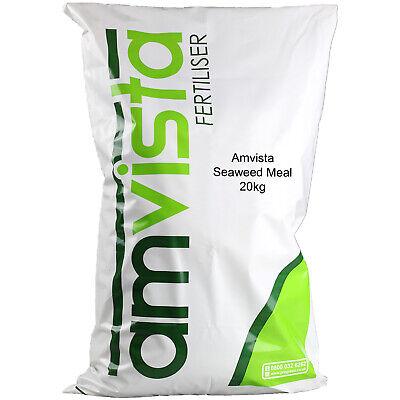Amvista Seaweed Meal Fertiliser 20KG - Naturally Increases Soil Fertility