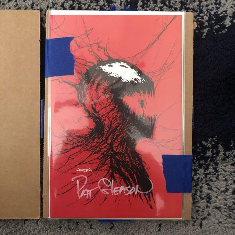 PRESALE - CARNAGE Black White and Blood #1 Patrick Gleason Virgin Variant SIGNED
