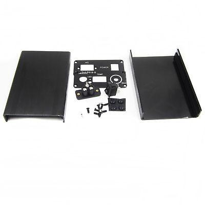 DSK T12 Digital Soldering Iron Station Aluminum Black Shell Case Power Socket