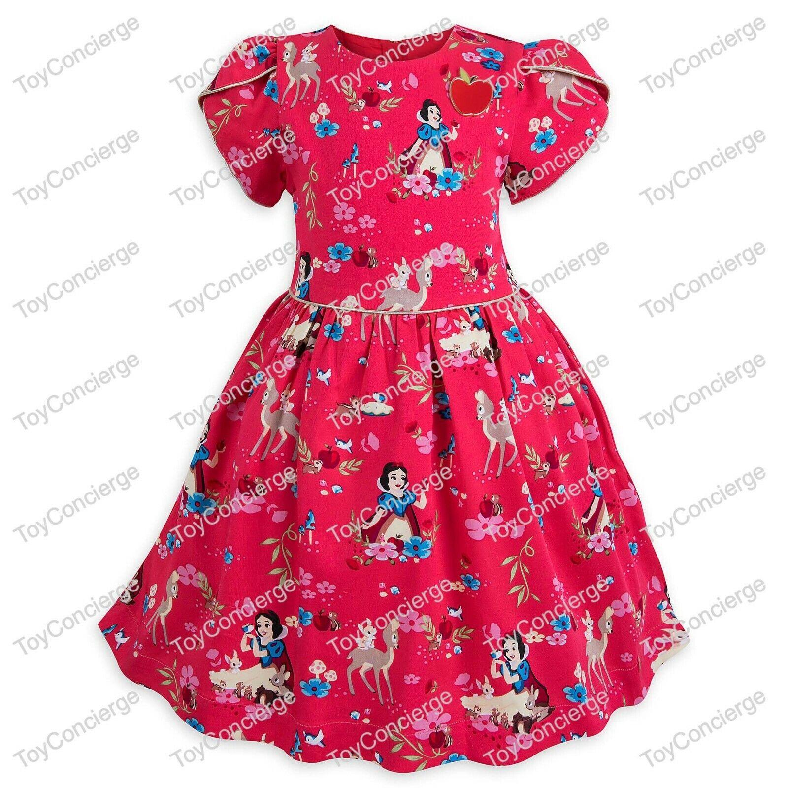 DISNEY Store DRESS for Girls SNOW WHITE PARTY Dress Pick Siz
