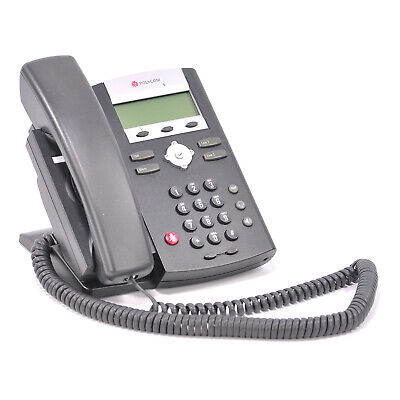 Polycom Soundpoint Ip 331 Sip Voip Phone W Stand Handset Cord 2201-12365-001
