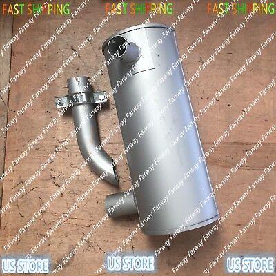 New Muffler 4389278 For Hitachi Excavator Ex60-5 Ex80-5 Ex75