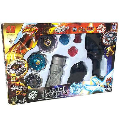 Beyblade Lot Set w/ Twisted Tempo Blitz Unicorno Scythe Kronos - USA SELLER!