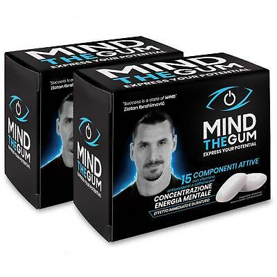 Mind The Gum - Chewing-Gum per Concentrazione, Memoria ed Energia Pack 72 gomme