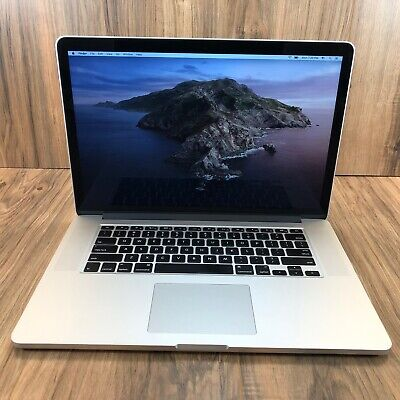 "Apple MacBook Pro 15"" Retina 256GB SSD 16GB RAM 2.2GHz Intel i7 Processor Tested"