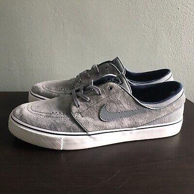 245a751ac2bd Nike SB Zoom Stefan Janoski Gray Shoes 473284-004 Size 10.5 Used