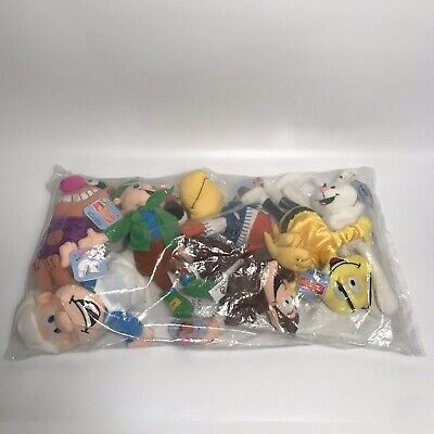Vtg 90s Lot Of 7 KELLOGGS Breakfast Bunch Collectible Cereal Characters - Cereal Characters