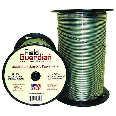 Field Guardian 15 Ga Aluminum Wire 12 Mile Electric Fence Af1550 814421012531
