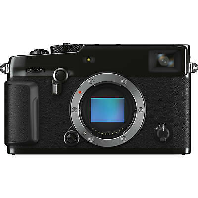 Fujifilm X-Pro3 Mirrorless Digital Camera Body - Black - Open -