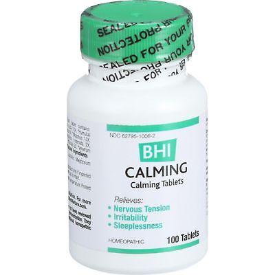 Calming Tablets (MediNatura BHI Calming Tablets, 100 Count )