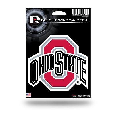 Ohio State Buckeyes Sticker Emblem Decal Die-Cut Logo Car Truck Decal (Ohio State Buckeyes Emblem)