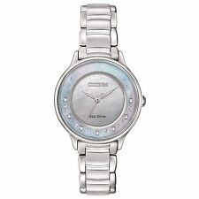 Citizen Eco-Drive Women's EM0380-81N Refurbished Circle of Time Diamonds Watch