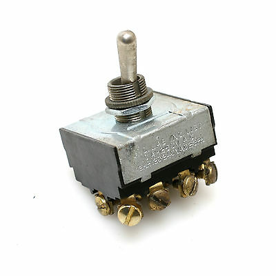 Arrow-hart Hegeman Off-on Non-maintained 2-position Toggle Switch 4-pole