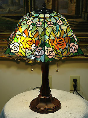 16 Stained Glass Desk Lamp (16