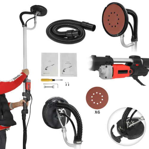 Drywall Sander 800W Commercial Electric Adjustable Variable Speed Sanding Pad Home & Garden