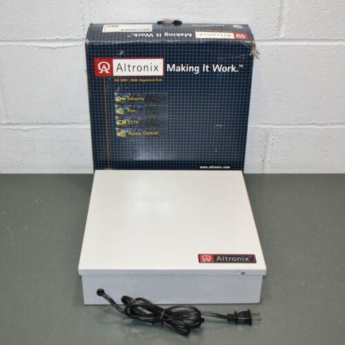 Altronix CCTV Power Supply BH2816600CB, 16 Outputs, 28VAC @ 21 A, Grey Enclosure