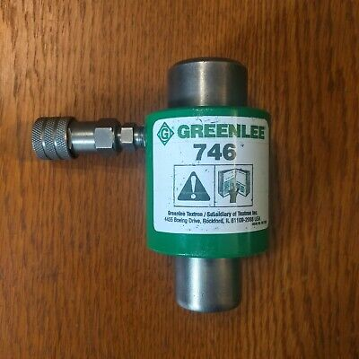 Greenlee Tool 746 Hydraulic Knockout Punch Driver Ram Coupler For 767 Pump