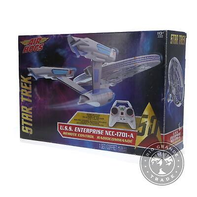 OPEN BOX Air Hogs Kids Unisex 6027405 Star Trek U.S.S Enterprise Drone In White - $122.49