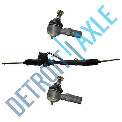 FORD/MERCURY COMPLETE POWER STEERING RACK AND PINION ASSEMBLY + 2 Outer Tie Rods