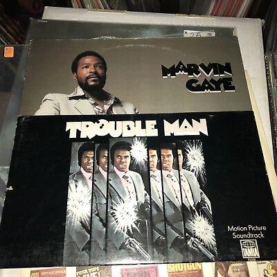 OG M- Marvin Gaye Trouble Man Vinyl Curtis Mayfield Isaac Hayes James Brown