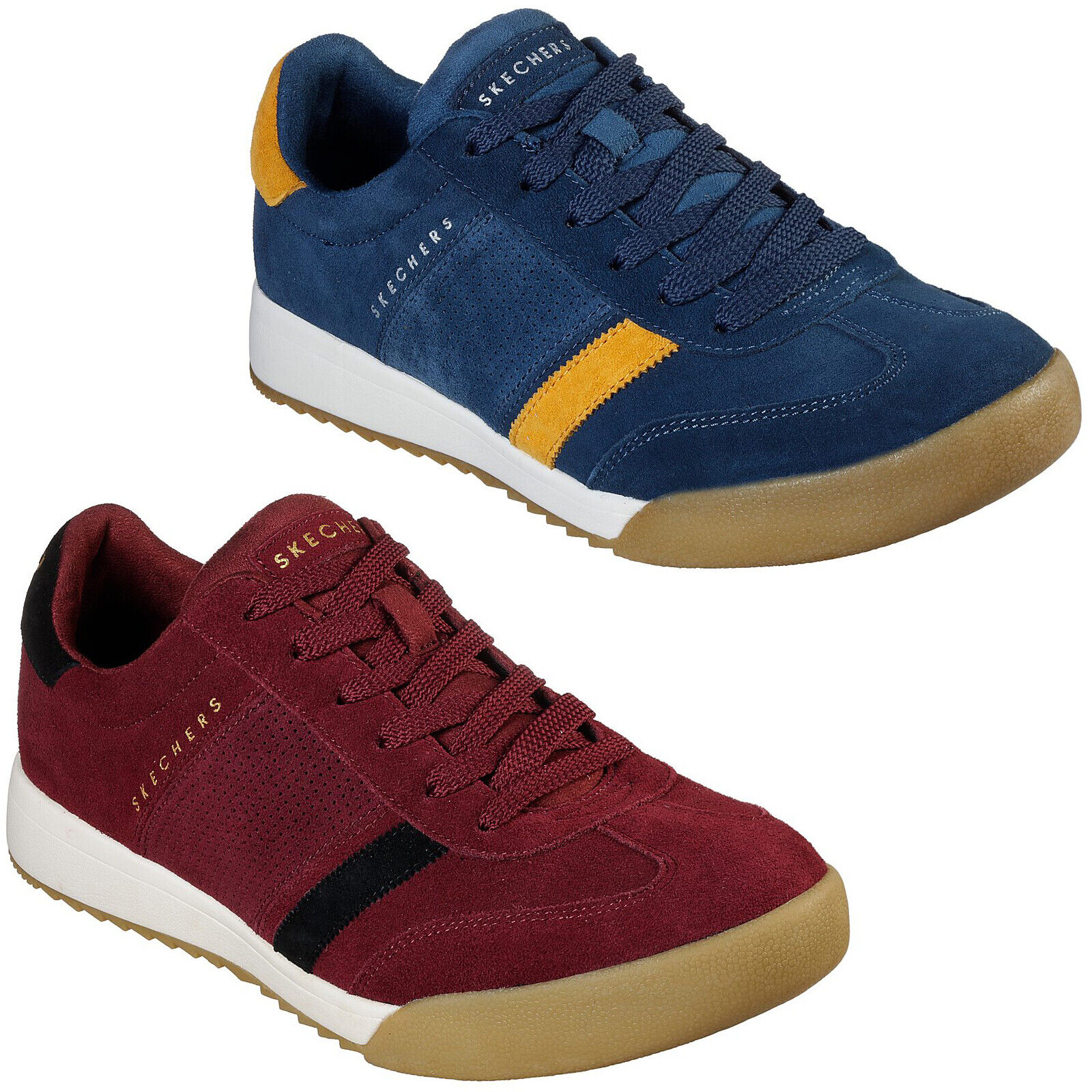 Wildview Trainers Mens Suede Soccer