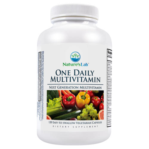 Natures Lab One Daily Multivitamin, 120 Vegetarian Capsules