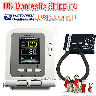 Fda Digital Veterinary Blood Pressure Monitor6-11cm Cuff Vet Hrnibp Monitorus