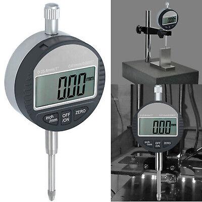 0-25.4mm1 Digital Probe Range 0.01mm0.0005 Dial Indicator Clock Dti Gauge