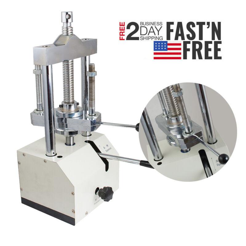 UPS Dental Dentistry Hydraulic Press Flask Presser Pressure Lifting Lab Machine