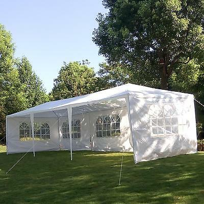 10'X30' Outdoor Canopy Party Wedding Tent Heavy Duty Gazebo Pavilion Cater Event