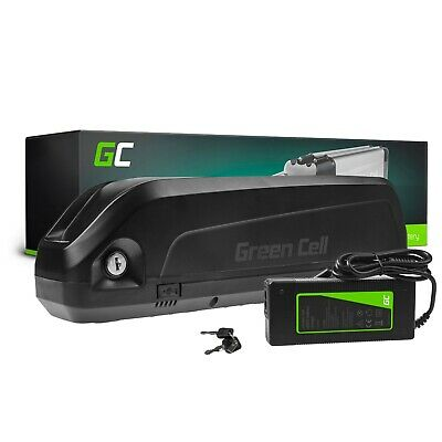 Batería Bicicleta Eléctrica 48V 15Ah E-Bike Down Tube Li-Ion con Cargador