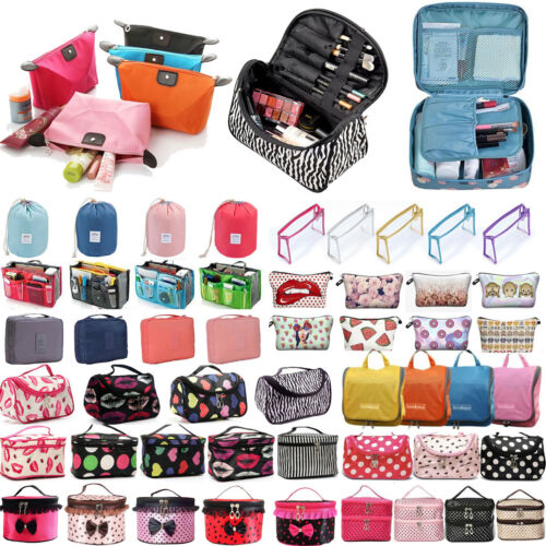 Ladies Travel Organizer Toiletry Beauty Cosmetic Make Up Hol