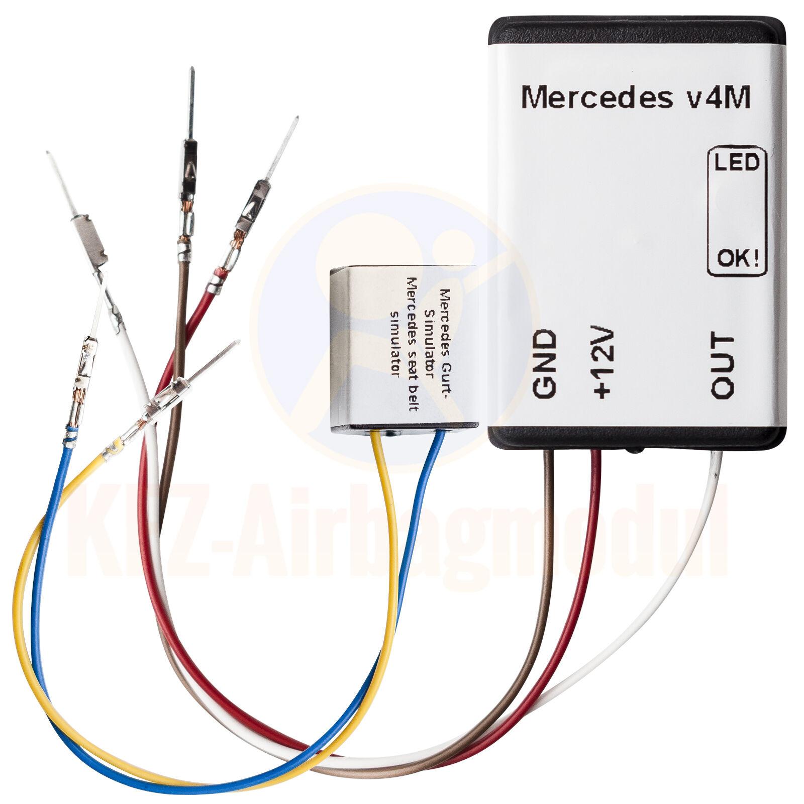 Seat Occupancy Detector Mercedes C W204 2007+ Seat Sensor