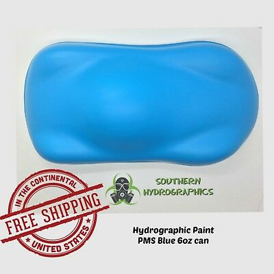 Hydrographic Film Hydro Dip Kit Paint Base Coat 6oz Aerosol Pms Blue
