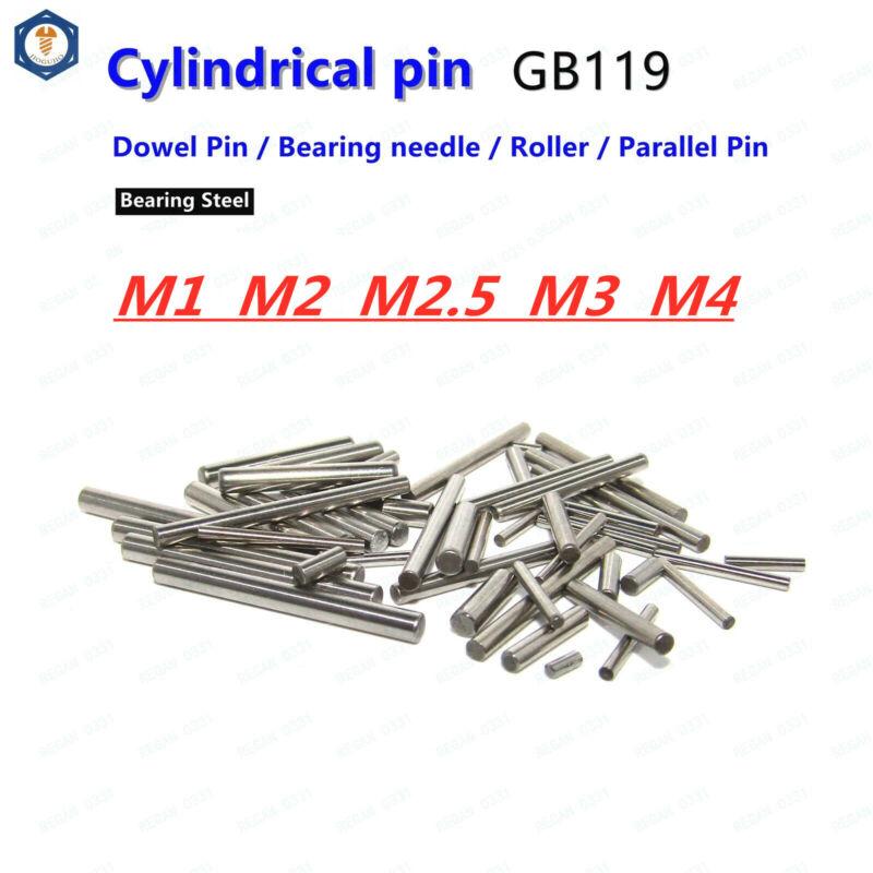 M1 / M2 / M2.5 / M3 M4 Bearing steel Dowel Pin Cylindrical pin Bearing Needle