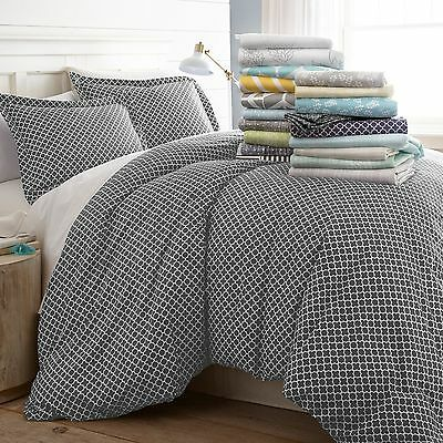 3 Piece Contemporary Bed (Hotel Luxury 3 Piece Patterned Duvet Cover Sets - 8 Beautiful Designs )