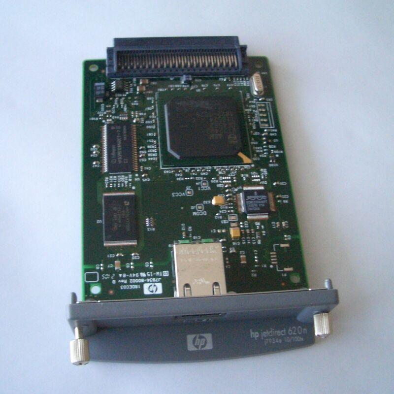 HP JetDirect 620n EIO 10/100TX Ethernet Print Server j7934a