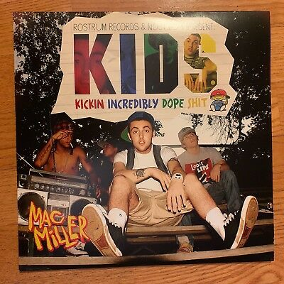 Mac Miller - Kids [2LP] Limited Edition Black Vinyl 12